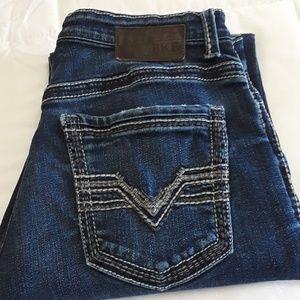 BKE  Denim TYLER STRAIGHT 32R Jeans